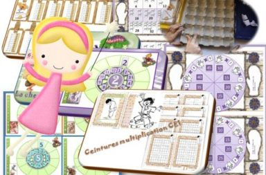 Apprentissage : LES TABLES de MULTIPLICATION CE1 / CE2