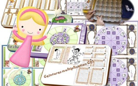 Apprentissage les tables de multiplication ce1 ce2 - Apprentissage table de multiplication ...