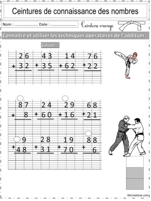 Les tables de mutiplication version adult baby - 4 8