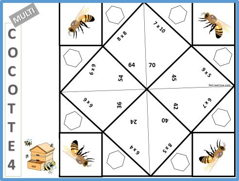 R viser les tables de multiplication les multicocottes for Table de multiplication de 6