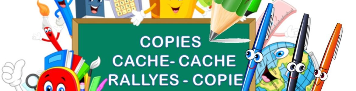 COPIES CACHE – CACHE et RALLYES COPIE