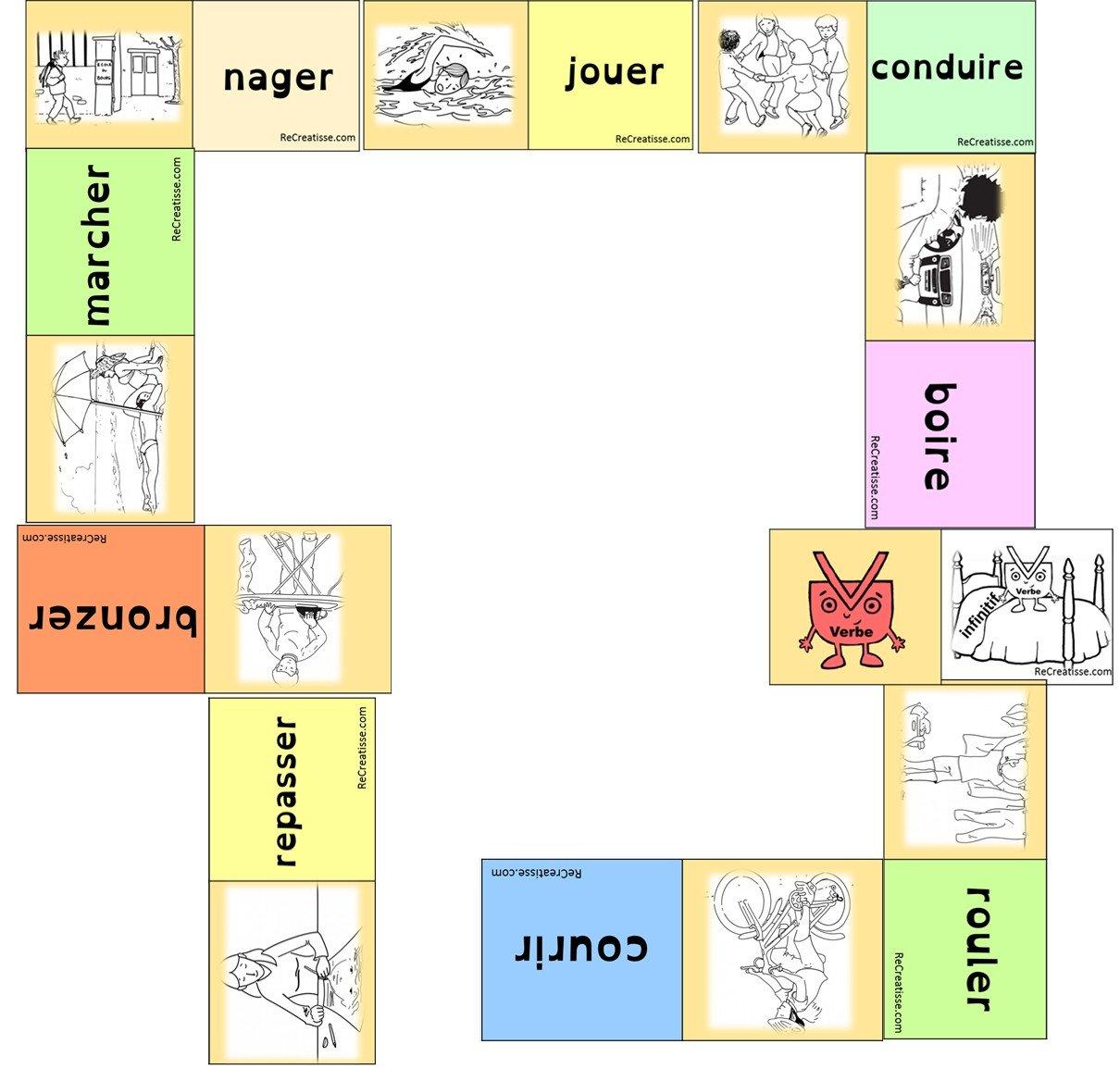 Le Verbe Sequence Jeux Ateliers Et Activites Recreatisse
