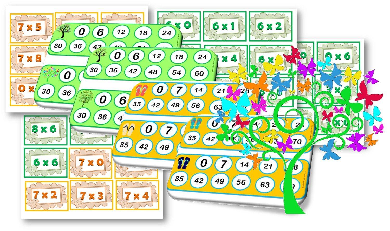 Ateliers jeux activites autour de la multiplication - Jeu table de multiplication ce2 ...