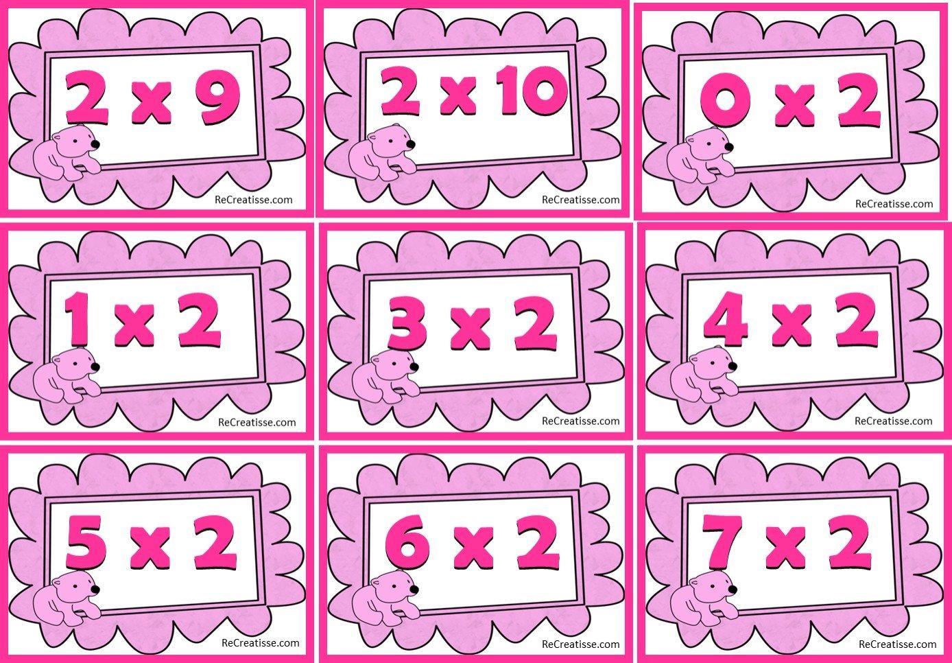Ateliers jeux activites autour de la multiplication recreatisse - Jeu de role sur table en ligne ...