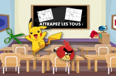 DES SOLIDES RIGOLOS : Angry birds et Picachu !