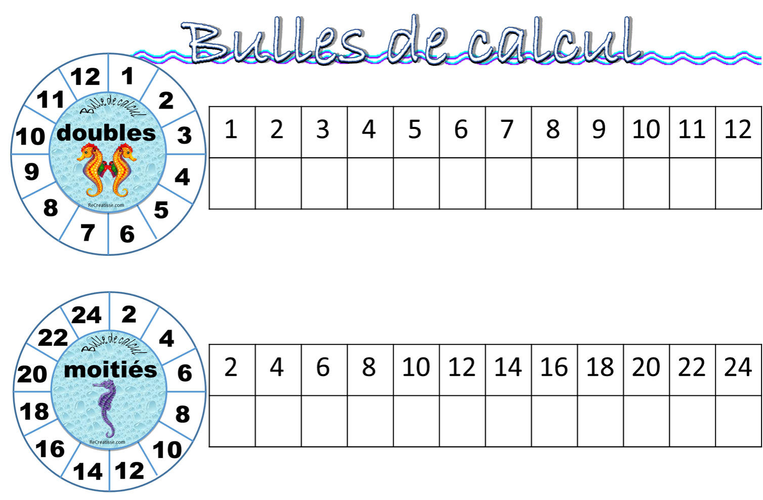 atelier   bulles de calcul  u2022 recreatisse