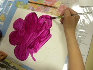bricolage printanier la fleur aux coccinelles o recreatisse With commentaire preparer une couleur de peinture 13 bricolage printanier la fleur aux coccinelles recreatisse