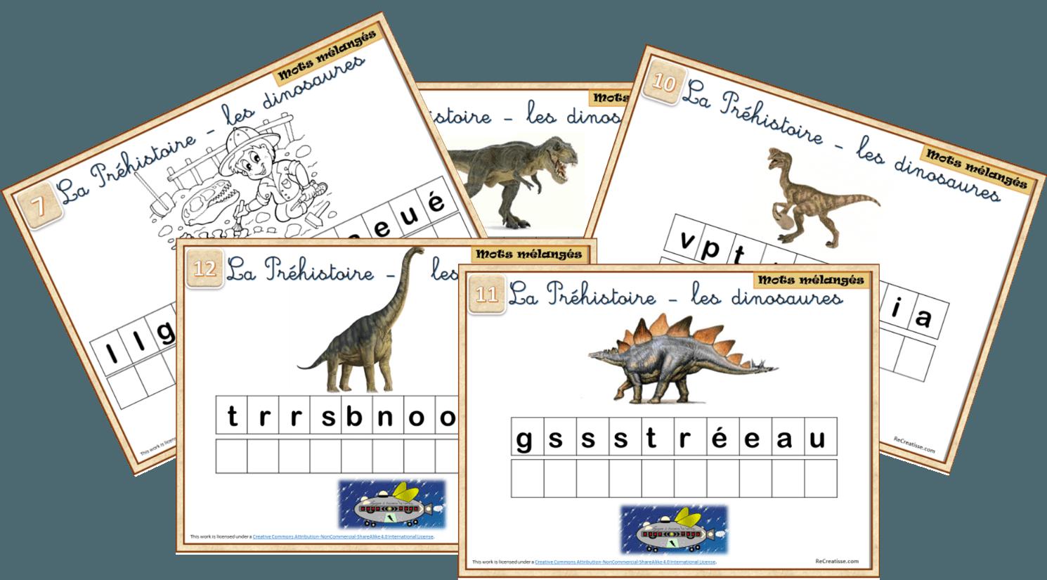 Voyage à Travers Le Temps 1 Les Dinosaures Recreatisse