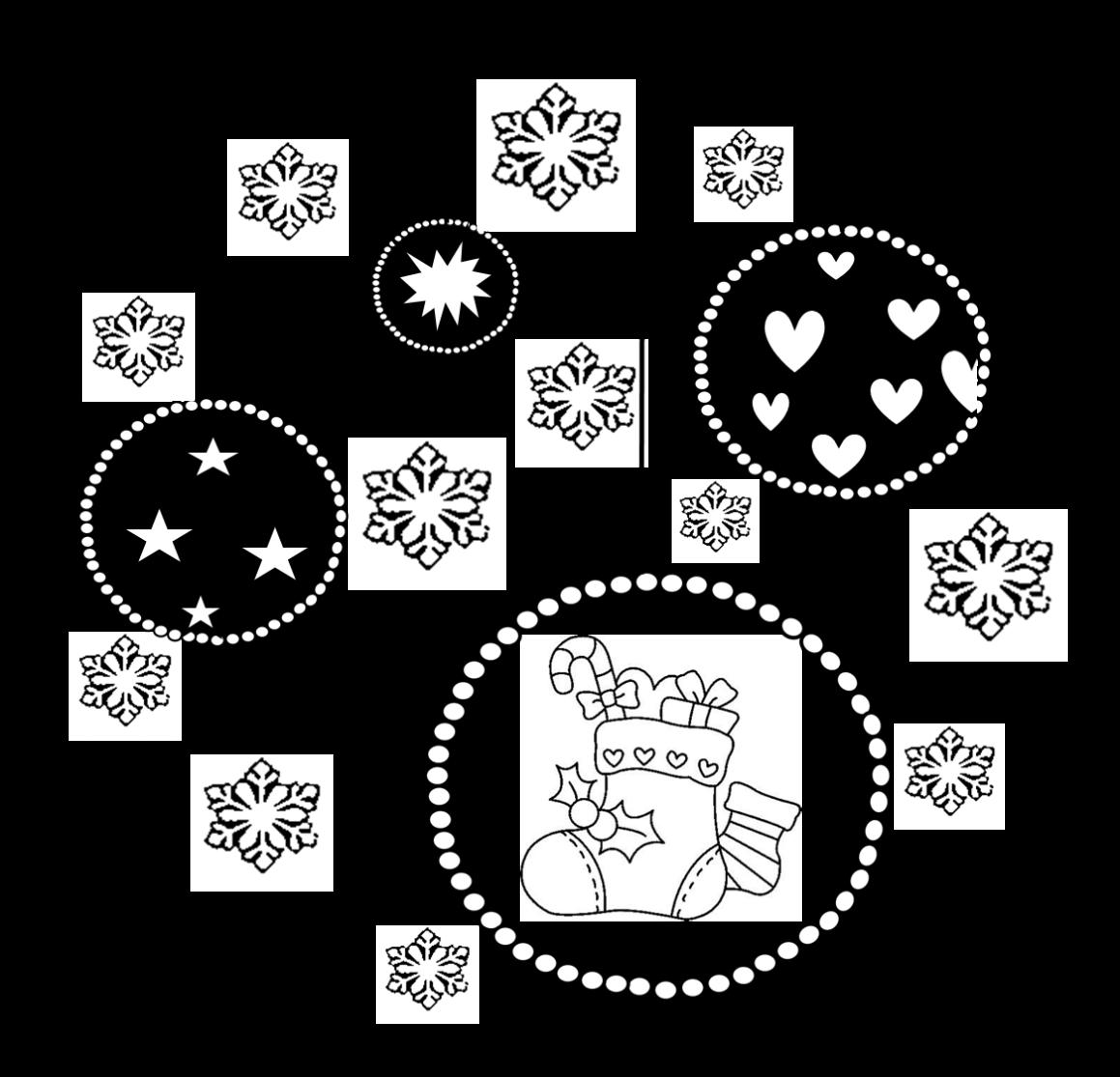 Coloriages Mandalas De Noel Recreatisse