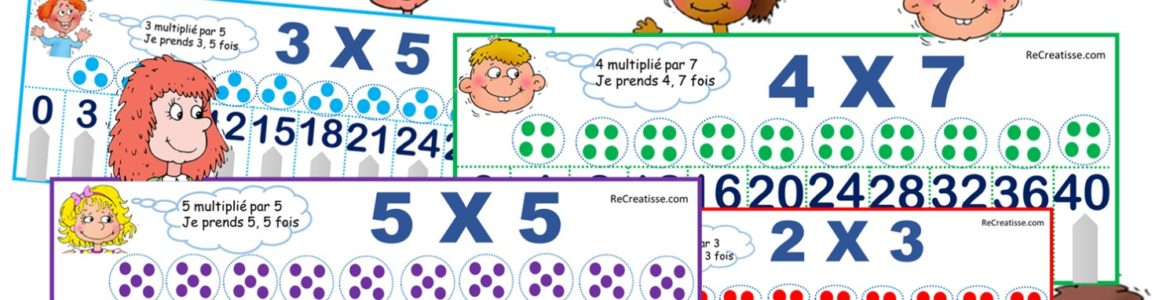 Atelier multiplication : La bonne place !